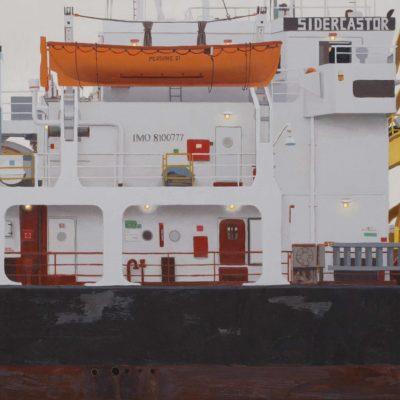 Sidercastor - olio tav. 50 x 85 cm