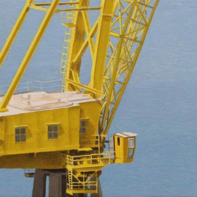 11 Gru canarino olio su tav. 30 x 75 cm 400x400 - 02.Opere