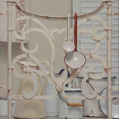 Balconcino d'inverno - 2014, olio su tavola 100 x 80 cm