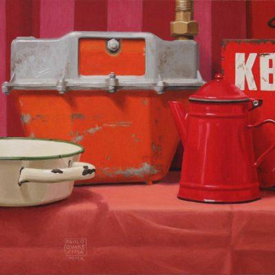 KBI - 2010 - olio su tavola - 40 x 100 cm