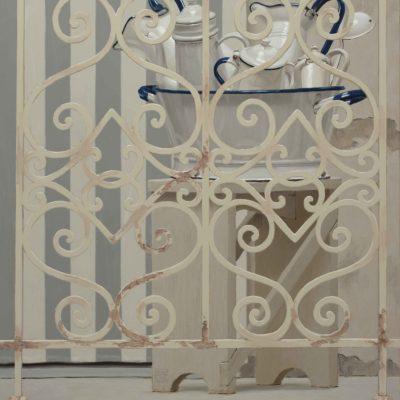 Mastellina di bianchi - 2014, olio su tavola 100 x 80 cm