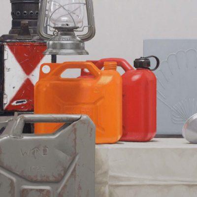 14 a Nur fuer Mineraloel 2 2011 olio su tela 60 x 150 cm 400x400 - 02.Opere