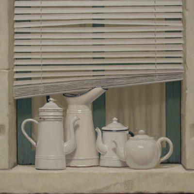 Chiacchier&veneziane - 2014, olio su tela 70 x 80 cm