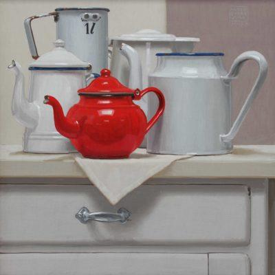 1l, 2013, olio su tavola 40 x 40 cm