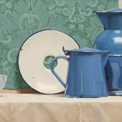 Castiglione - 2010 - olio su tavola - 40 x 100 cm