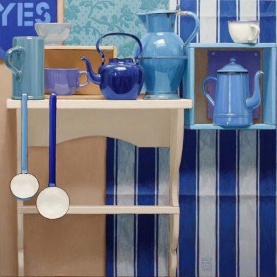 4 YES 2012 olio su tela 100 x 100 cm. n° 7735 400x400 - 02.Opere