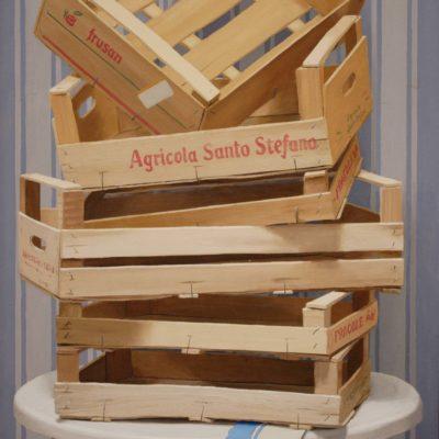 6 Agricola S.Stefano 2010 olio carta appl. su tav. 93 x 50 cm 400x400 - 02.Opere