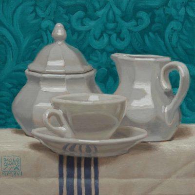 9 Nobile macchiato 2016 olio su tavola 20 x 20 cm. IMG 5438 400x400 - 02.Opere