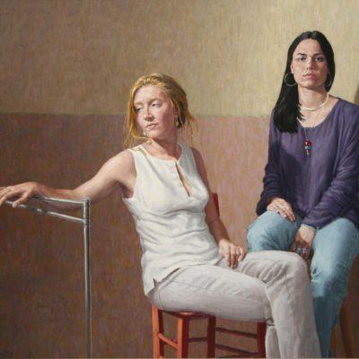 Simonetta e Serena- tav 120x170 cm