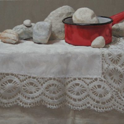 09 Pentolino rosso tav 30x60 400x400 - Works archive