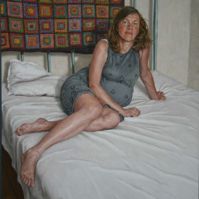 Simonetta e Beatrice-tav 130x120 cm