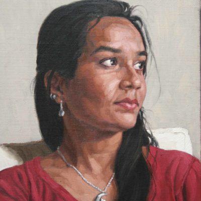 Zainab- tela 40x35 cm