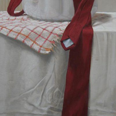 Cravatta e zuppiera- tav 63x30 cm