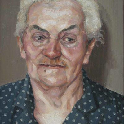 Orme - 1999 - olio su tavola 40 x 30 cm