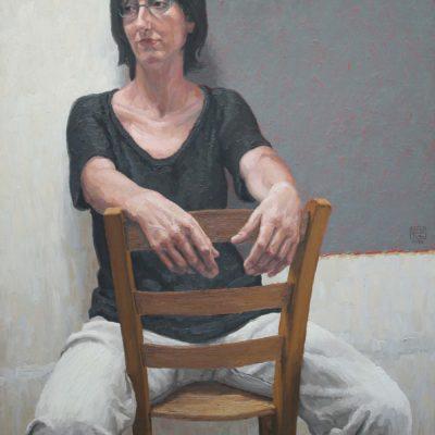 Pannello grigio - 2002 tav. 108 x 78 cm