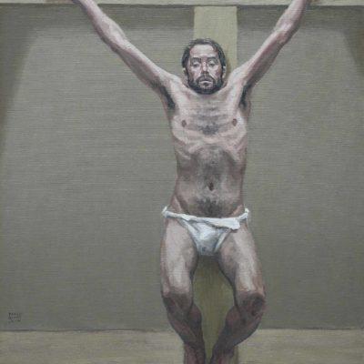 Studio 3 per spirò - 2001 - olio su tela 90 x 65 cm