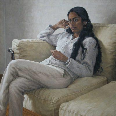 Tanti bianchi - 2002 - olio su tela 100 x 100 cm