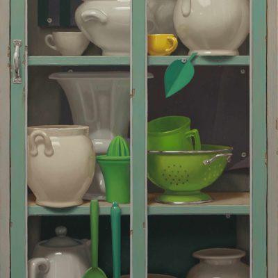 Primi-verdi-di-primavera-2019,-olio-su-tavola-140-x-65-cm