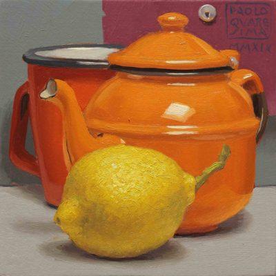 5-Orange-pekoe-2019,-olio-su-tavola-15-x-15-cm