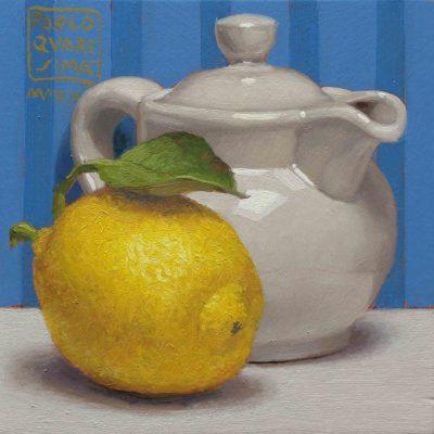 6 Lemon scented 2019 olio su tavola 15 x 15 cm 400x400 - 02.Opere