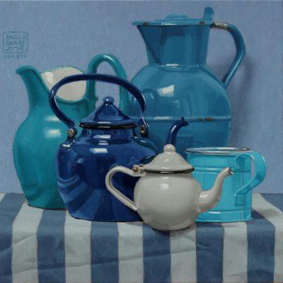 Azzurri silenti 2019 olio su tavola 40 x 40 cm. 1 400x400 - 02.Opere