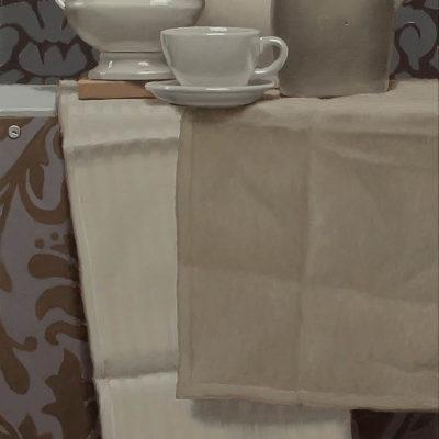 1 Elegiac elegance of turtledove 2020 olio su tavola 100 x 40 cm. IMG 5005 400x400 - 02.Opere