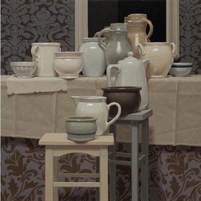 Elegiac elegance of turtledove 2020 olio su tavola 100 x 180 cm. F.G. 400x400 - 02.Opere