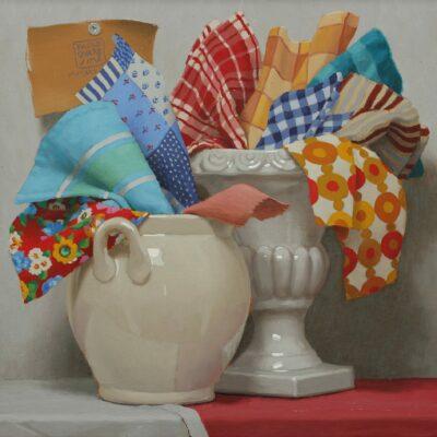 Cocci & stracci - 2021, olio su tavola 40 x 40 cm. IMG_8437prorit